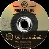 NBA Live 06 GameCube disc (G6NP69)