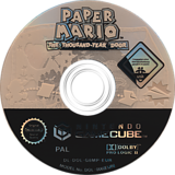 Paper Mario: The Thousand-Year Door GameCube disc (G8MP01)