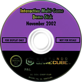 Interactive Multi-Game Demo Disc - November 2002 GameCube disc (G96P01)