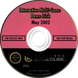 Interactive Multi-Game Demo Disc - May 2002 GameCube disc (G98P01)