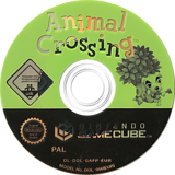 Animal Crossing GameCube disc (GAFP01)