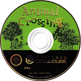 Animal Crossing GameCube disc (GAFU01)