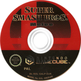 Super Smash Bros. Melee GameCube disc (GALP01)