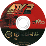 ATV Quad Power Racing 2 GameCube disc (GATP51)