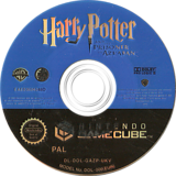 Harry Potter and the Prisoner of Azkaban GameCube disc (GAZP69)