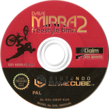 Dave Mirra Freestyle BMX 2 GameCube disc (GBXP51)