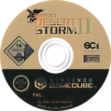 Conflict: Desert Storm II: Back to Baghdad GameCube disc (GC2P75)