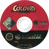 Cocoto: Kart Racer GameCube disc (GC5PNK)