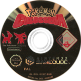 Pokémon Colosseum GameCube disc (GC6P01)