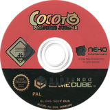 Cocoto Platform Jumper GameCube disc (GC7PNK)
