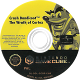 Crash Bandicoot: The Wrath of Cortex GameCube disc (GCBP7D)