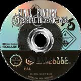 Final Fantasy Crystal Chronicles GameCube disc (GCCP01)