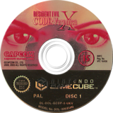 Resident Evil Code: Veronica X GameCube disc (GCDP08)