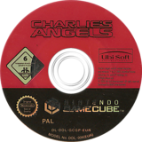 Charlie's Angels GameCube disc (GCGP41)