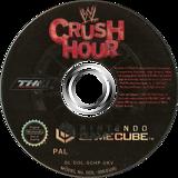 WWE Crush Hour GameCube disc (GCHP78)
