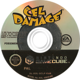Cel Damage GameCube disc (GCLP69)