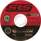 Street Racing Syndicate GameCube disc (GCSPAF)