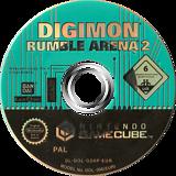 Digimon Rumble Arena 2 GameCube disc (GD6P70)