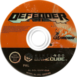 Defender: For All Mankind GameCube disc (GDFP5D)