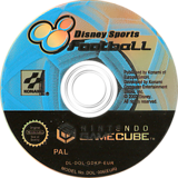 Disney Sports: Football GameCube disc (GDKPA4)