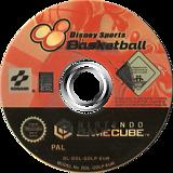 Disney Sports: Basketball GameCube disc (GDLPA4)