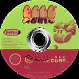 Eggo Mania GameCube disc (GEMP7F)