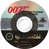 James Bond 007: Everything Or Nothing GameCube disc (GENP69)