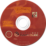 Evolution Skateboarding GameCube disc (GESPA4)