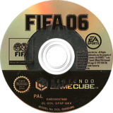 FIFA 06 GameCube disc (GF6P69)