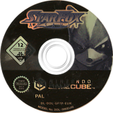 Star Fox Assault GameCube disc (GF7P01)
