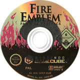 Fire Emblem: Path of Radiance GameCube disc (GFEP01)