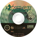 Mario Golf: Toadstool Tour GameCube disc (GFTP01)