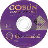 Goblin Commander: Unleash the Horde GameCube disc (GGCP0A)