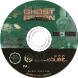 Tom Clancy's Ghost Recon GameCube disc (GGRP41)