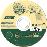 Spongebob Squarepants: The Movie GameCube disc (GGVP78)