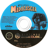 Madagascar GameCube disc (GGZP52)