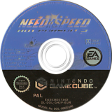 Need for Speed: Hot Pursuit 2 GameCube disc (GH2P69)