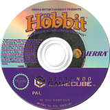 The Hobbit GameCube disc (GHBP7D)