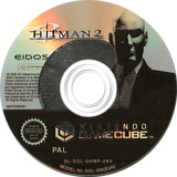 Hitman 2: Silent Assassin GameCube disc (GHMP4F)