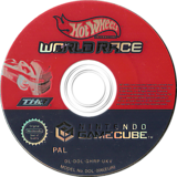 Hot Wheels: World Race GameCube disc (GHRP78)