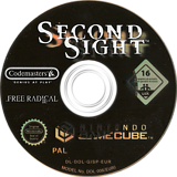 Second Sight GameCube disc (GISP36)