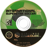International Superstar Soccer 2 GameCube disc (GJ2PA4)
