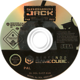 Samurai Jack: The Shadow of Aku GameCube disc (GJCP8P)