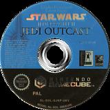 Star Wars Jedi Knight II: Jedi Outcast GameCube disc (GJKP52)
