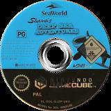 SeaWorld Adventure Parks: Shamu's Deep Sea Adventures GameCube disc (GJZP52)