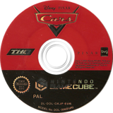 Cars GameCube disc (GKJP78)