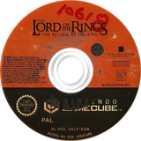 The Lord of the Rings: The Return of the King GameCube disc (GKLP69)