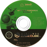 Kao The Kangaroo Round 2 GameCube disc (GKOP6V)