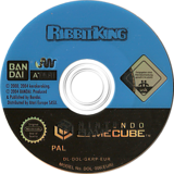 Ribbit King GameCube disc (GKRPB2)