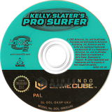 Kelly Slater's Pro Surfer GameCube disc (GKSP52)